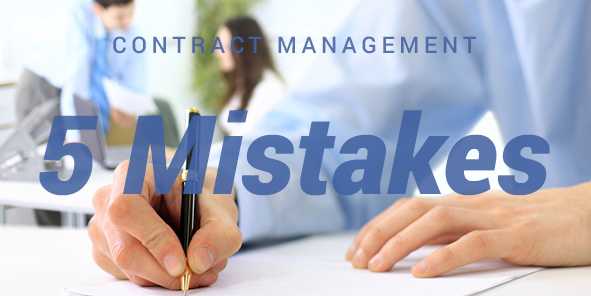 5 Business Contract Mistakes
