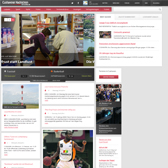 Development of the news site Cuxhavener Nachrichten using TYPO3.